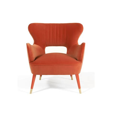mid century armchair swanky interiors