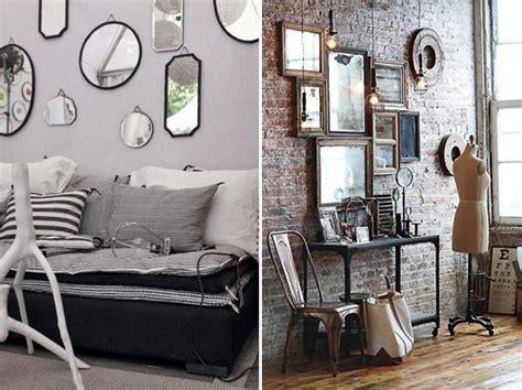 Plusieurs Miroirs Sur Un Mur by D 233 Co Maison Avec Miroir Exemples D Am 233 Nagements