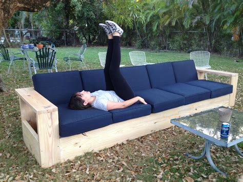 diy outdoor sofa   couch diy outdoor furniture outdoor sofa outdoor couch
