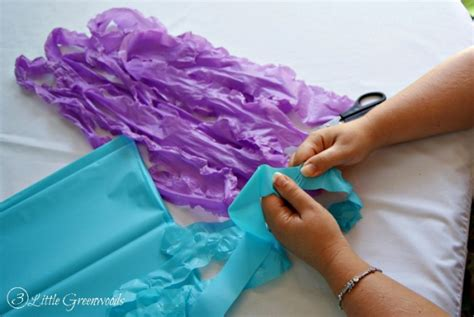 How To Make A Paper Jellyfish - simple paper lantern jellyfish for a mermaid