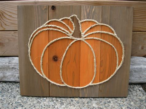 wooden fall decor add this unique rustic pumpkin to your fall home decor