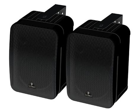 Behringer 1c Speaker Monitor behringer pa speakers monitor speakers 1c bk wh
