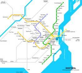 montreal canada metro map montr 233 al carte du m 233 tro carte d 233 taill 233 e du