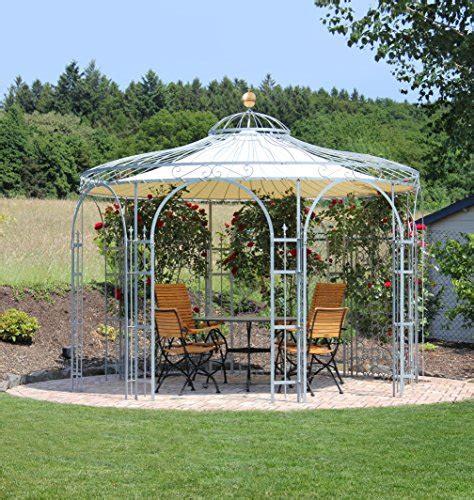 pavillon rund kaufen eleo florenz runder gartenpavillon aus metall mit