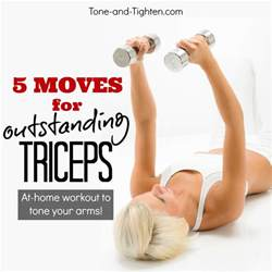 best at home workout best exercises to tone triceps tone and tighten