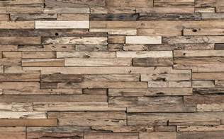 reclaimed wood tiles as wall decor come with various