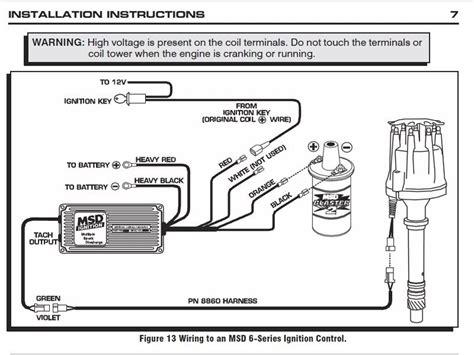 msd digital 6 wiring diagram msd digital 6 plus wiring