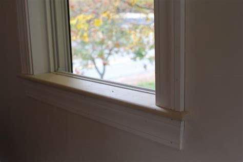 Inside Window Sill How To Install An Interior Window Sill A Concord Carpenter