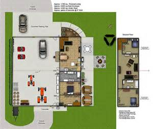 shop plans with living space best 25 garage with living quarters ideas on