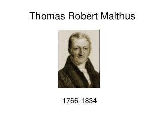 biography the english economist thomas robert malthus ppt thomas malthus powerpoint presentation id 173924