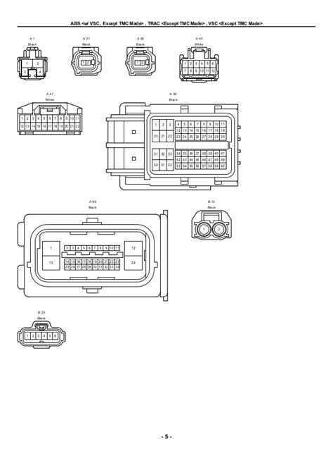 2009 toyota corolla white wiring diagrams wiring diagrams