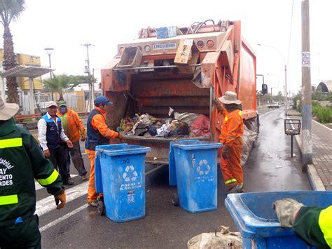 limpieza publica municipalidad distrital de pocollay