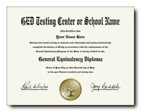 ged diploma template make a ged certificate pictures to pin on