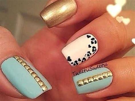 imagenes de uñas acrilicas de moda 2014 u 241 as decoradas 2014 para adolescentes imagui