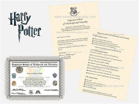 Hogwarts Acceptance Letter Bundle hogwarts bundle acceptance letter requirements list by
