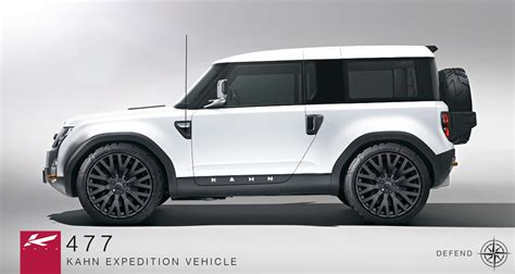 land rover defender concept project kahn recreates land rover s frankfurt bound
