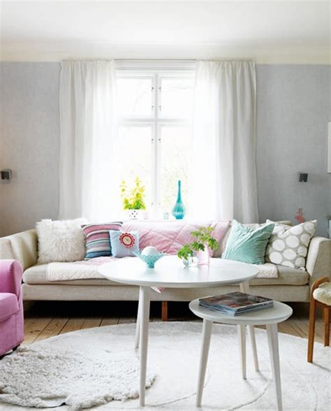 Pastel Living Room Colors by Colorful Pastel Living Room Interior Design