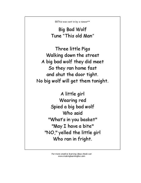 Poetry Science 1 Pouch 107 best images about 3 pigs preschool on