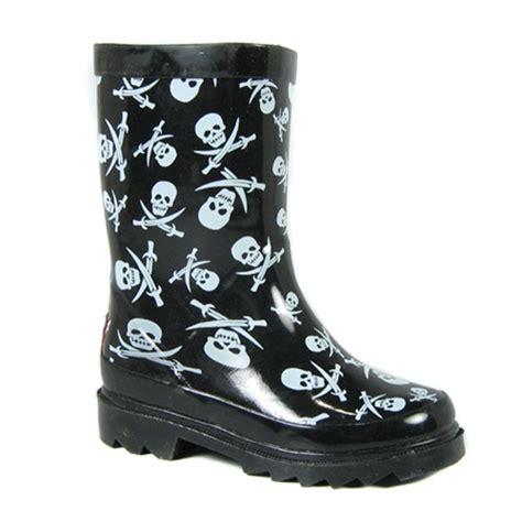 skull boots chooka black skull print boots chooka boots