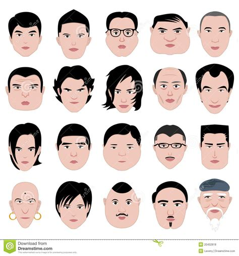 face shape hairstyle hairstyles for men according to face shape hair