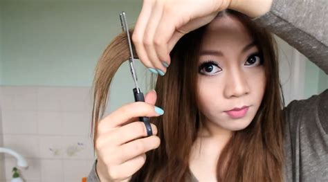 cut your own shag haircut style 8 youtube tutorials that make diy haircuts look super easy