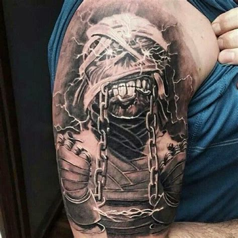 eddie tattoo heavy metal tattoos eddie ironmaiden heavymetal on