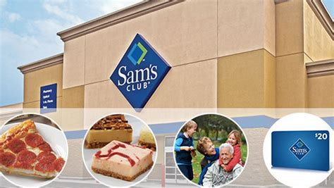Sam Club Membership 20 Gift Card - 45 reg 91 sams club membership 20 gift card free items