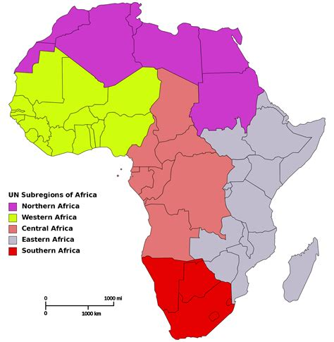 africa map 2000 population of africa map
