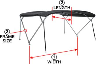 pontoon tops with sides bimini tops tool