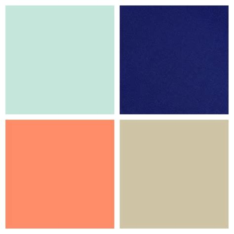blue neutral color color palette for gender neutral boy girl nursery mint