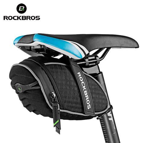 Bestseller Mountain Bike Bag Saddle Pack Equipment Tas rockbros bike bag mtb road bicycle saddle bag 3d shell rainproof cycling rear seat bag bicycle