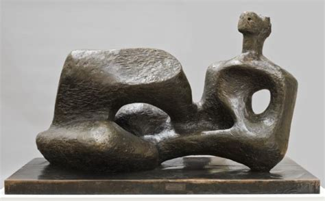 reclining figure by henry moore working model for unesco reclining figure henry moore