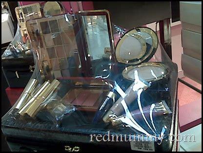Make Up Satu Set estee lauder klcc pencinta merah lover