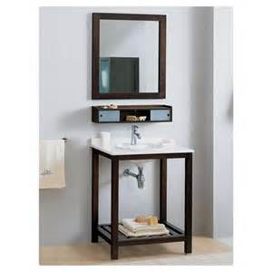 bathroom sink console table verche console table with grill shelf shown with