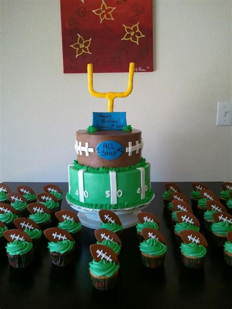 themed cake decorations best 25 football themed cakes ideas on