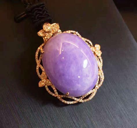 Anting Dan Cincin Permata Ungu perhiasan dan kesehatan batu giok asli myanmar dan