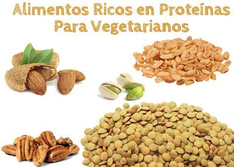 alimentos ricos en proteina  vegetarianos la guia de las vitaminas