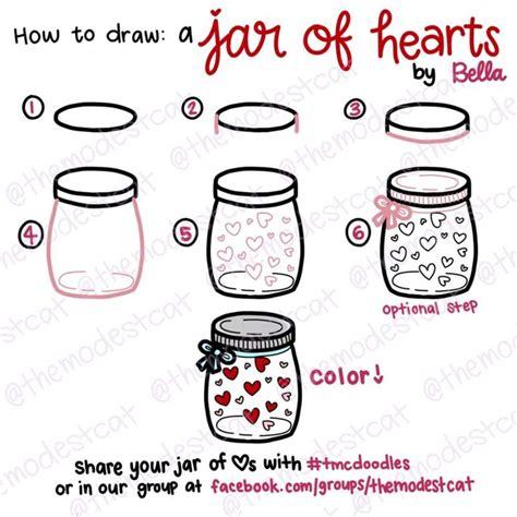tutorial gitar jar of heart the 25 best easy doodles drawings ideas on pinterest