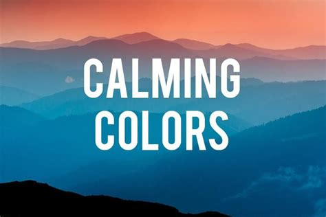 calming color calming colors rc willey