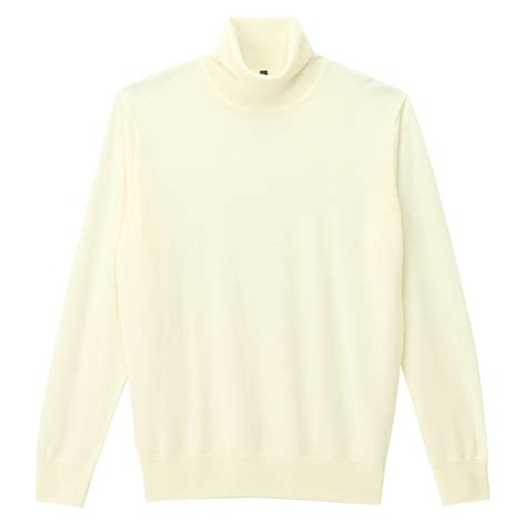 Plain Turtle Neck Sweater less itchiness washable plain turtle neck sweater xl