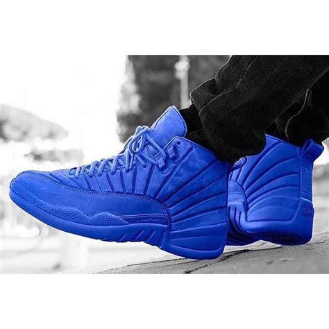 nike air 12 retro xii royal blue suede aj12 shoes 130690 400 ebay