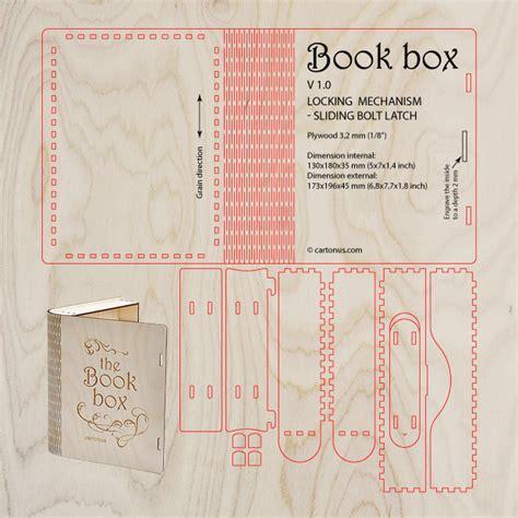 wooden book box with sliding bolt latch http cartonus