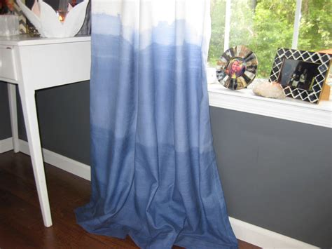 diy ombre curtains diy dip dye ombre curtains curious com