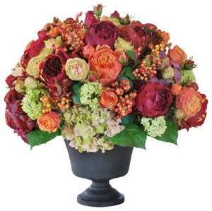 Tall Metal Floor Vases Mixed Conservatory Planter Flower Arrangement