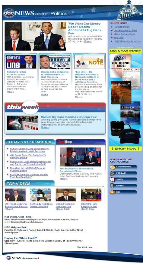 political newsletter template abc news newsletter sle politics
