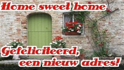 felicitatie nieuwe woning plaatjes