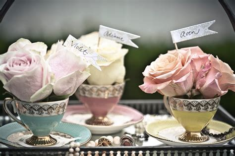 Tea Cup Decorations by Bridal Shower Tea Celebrations At Home