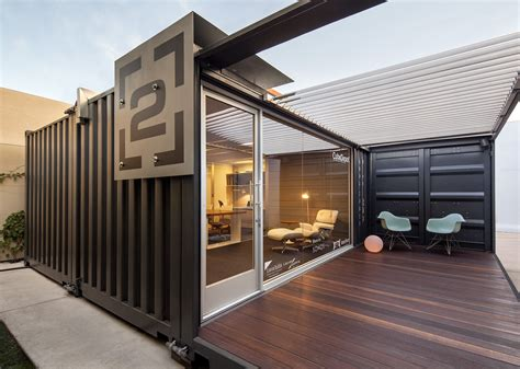 Office Container interested in creative ways to reuse shipping containers