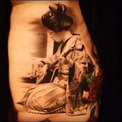 128 best geisha tattoos