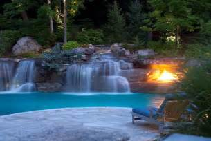 pools with waterfalls swimming pool designs with waterfalls native home garden design